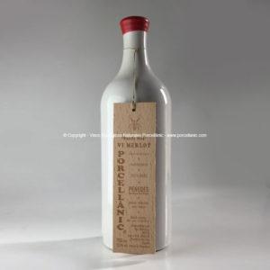 Porcellànic Vino Merlot 2016 «Viñas Conde Moy»