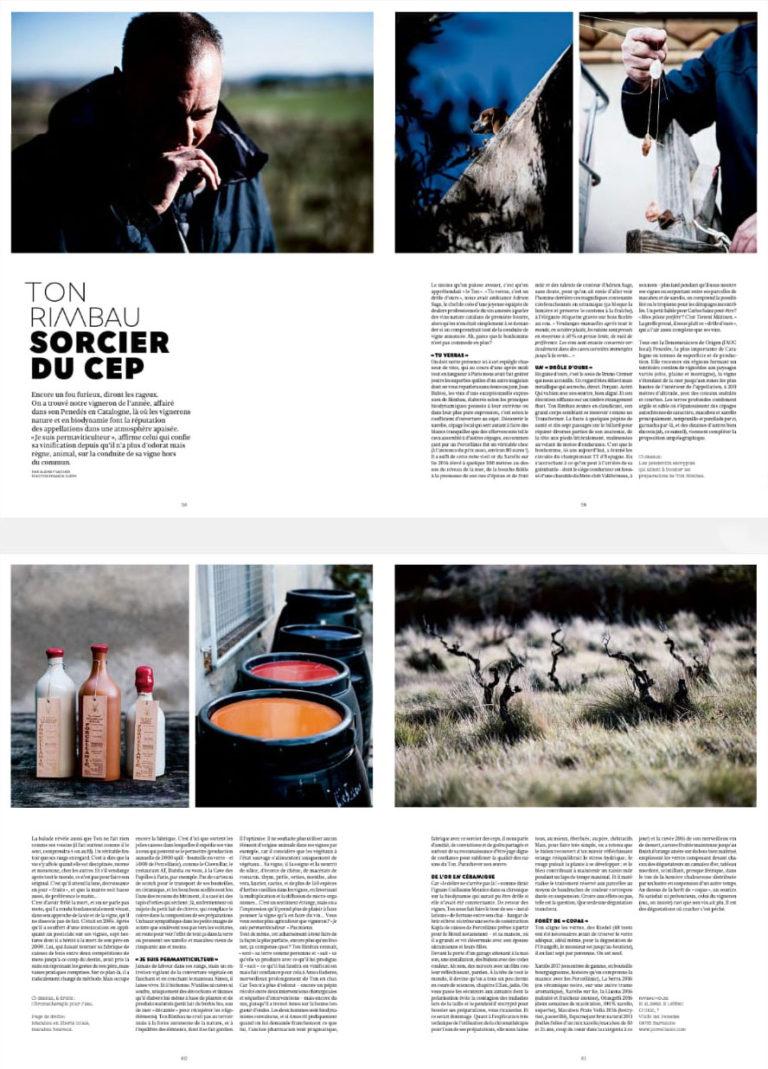 Lee más sobre el artículo OMNIVORE proclama como Viticultor del 2020, al elaborador del Porcellànic