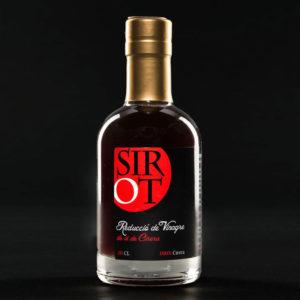 Reducción de vinagre de vino de cereza
