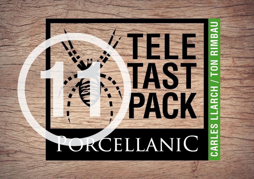 Probando el Porcellànic Xarel·lo Sur-Lie en Tele Tast Pack